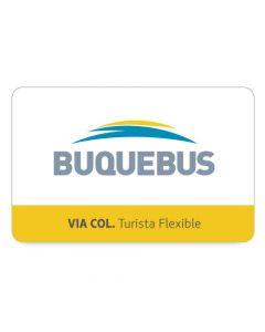 BUQUEBUS - 1 PASAJE Ida y Vueta- Buenos Aires a Montevideo via Colonia- Turista Flex