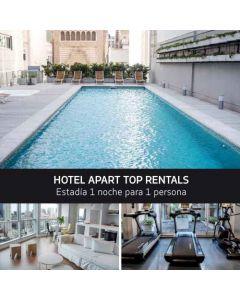 BUQUEBUS - PAQUETE Montevideo-Buenos Aires. Apart Top Rentals- Para  1 persona
