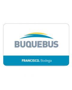 BUQUEBUS - 1 pasaje Ida y Vuelta- FRANCISCO Montevideo a Buenos Aires- Bodega EC