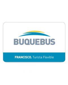 BUQUEBUS - 1 pasaje ida y Vuelta- FRANCISCO Punta del Este a Buenos Aires- Turista Flex