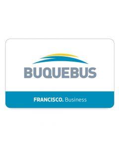 BUQUEBUS - 1 PASAJE Ida y Vuelta- FRANCISCO Punta del Este a Buenos Aires- Business