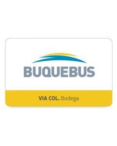 BUQUEBUS - 1 pasaje Ida y Vuelta- Colonia a Buenos Aires- Bodega EC