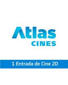 Ticket Box - 1 entrada 2D - ATLAS CINES