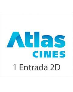Ticket Box - 1 entrada 2D- ATLAS CINES