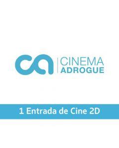 Ticket Box - 1 entrada 2D - CINEMA ADROGUÉ