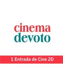 Ticket Box - 1 entrada 2D - CINEMA DEVOTO