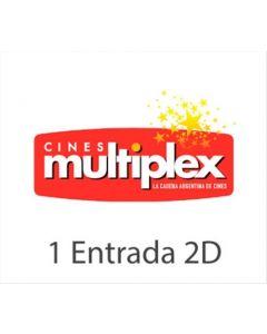 Ticket Box - 1 entrada 2D- CINES MULTIPLEX