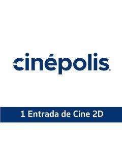 Ticket Box - 1 entrada 2D - CINÉPOLIS