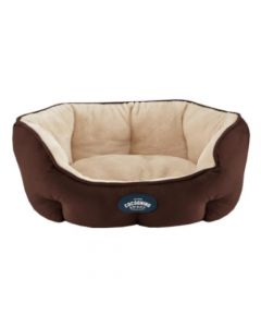 Cocooning - EMIR Cama para perros Chocolate- Small