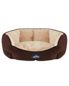 Cocooning - EMIR Cama para perros Chocolate- Medium