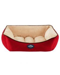 Cocooning - ANDY Cama para perros Roja- Small