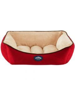Cocooning - ANDY Cama para perros Roja- Medium
