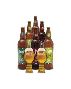 Cerveza- COMBO LUPULADAS RABIETA x6 -  Envío Incluido