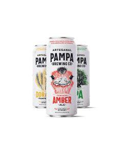 Craft Rabieta - Voucher Online - Cerveza MIX PAMPA 473CC X6