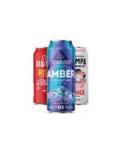 Craft Rabieta - Voucher Online- Cerveza MIX DE ROJAS 473CC X18