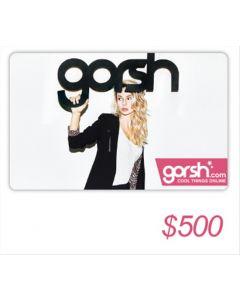 Gorsh - Voucher $ 500