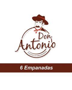Don Antonio - 6 empanadas