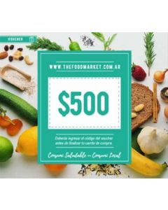 The Food Market - Voucher $500