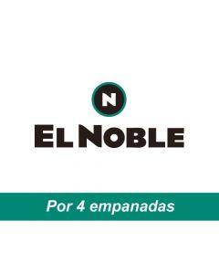El Noble - Voucher por 4 empanadas