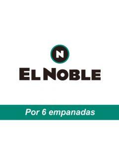 El Noble - Voucher por 6 empanadas