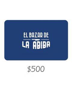El Bazar de Abiba - Gift Card Virtual $500