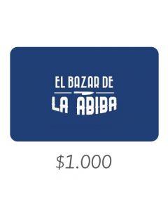 El Bazar De Abiba - Gift Card Virtual $1000