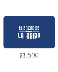 El Bazar De Abiba - Gift Card Virtual $1500