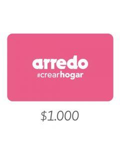 Arredo - Gift Card Virtual $1000