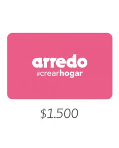 Arredo - Gift Card Virtual $1500