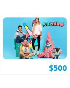 Artentino - Gift Card Virtual $500