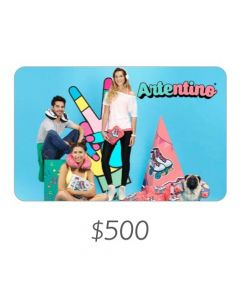Artentino - Gift Card Virtual $500