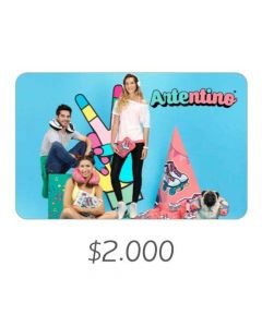 Artentino - Gift Card Virtual $2000