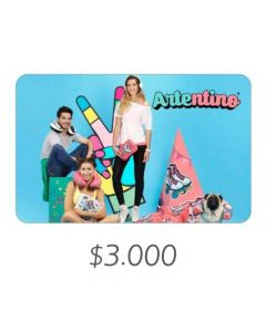 Artentino - Gift Card Virtual $3000