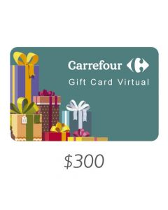 Carrefour - Gift Card Virtual $300