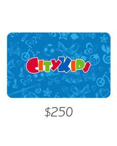 City Kids - Gift Card Virtual $250