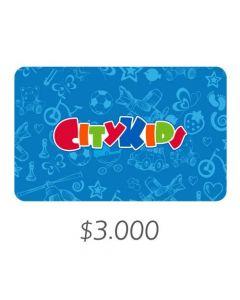 City Kids - Gift Card Virtual $3000