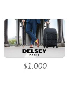 Delsey - Gift Card Virtual $1000