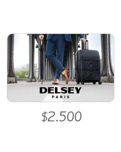 Delsey - Gift Card Virtual $2500
