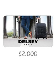 Delsey - Gift Card Virtual $2000