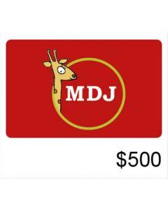 El Mundo del Juguete - Gift Card Virtual $500