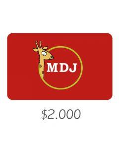 El Mundo Del Juguete - Gift Card Virtual $2000
