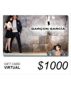 Garçón García - Gift Card Virtual $ 1000