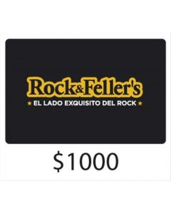 Rock and Fellers - Gift Card Virtual $1000