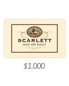 Scarlett Cakes - Gift Card Virtual $1000