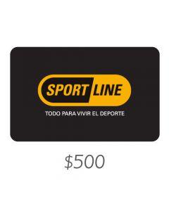 Sportline - Gift Card Virtual $500
