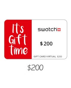 Swatch - Gift Card Virtual $200