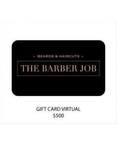 The Barber Job - Gift Card Virtual $500