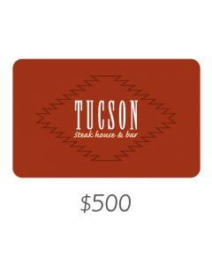 Tucson - Gift Card Virtual $500