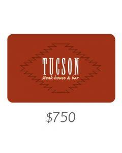 Tucson - Gift Card Virtual $750