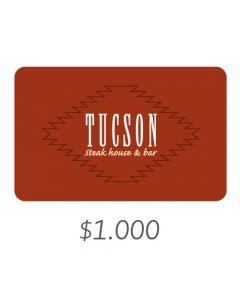 Tucson - Gift Card Virtual $1000